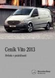 Ceník Mercedes-Benz Vito 2013
