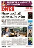 MF DNES Severní Čechy - 18.5.2021