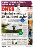 MF DNES Jižní Čechy - 25.1.2020