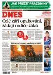 MF DNES Jižní Čechy - 13.5.2021