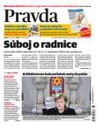 Denník Pravda 10. 11. 2018