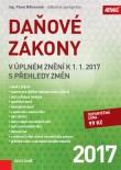 Daňové zákony v úplném znění k 1. 1. 2017 s přehledy změn