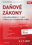 Daňové zákony v úplném znění k 1. 7. 2017 s přehledy a komentáři změn